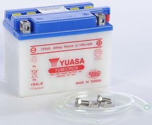 yuasa battery yb4l b yuam224lb fits aprilia rs 50 rs 250. Black Bedroom Furniture Sets. Home Design Ideas
