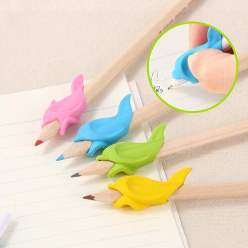AM/_ EG/_ Dolphin Pen Grips Hold Writing Posture Correction Student Stationery Rak