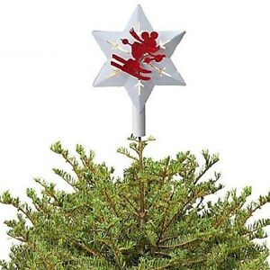 image is loading disney parks red amp white skiing mickey mouse - Mickey Mouse Christmas Tree Topper