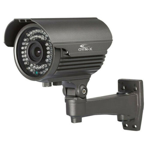 Oyn-X Efficace Dissuasif Qvis Tétine Balle Sécurité CCTV Appareil Photo Gris