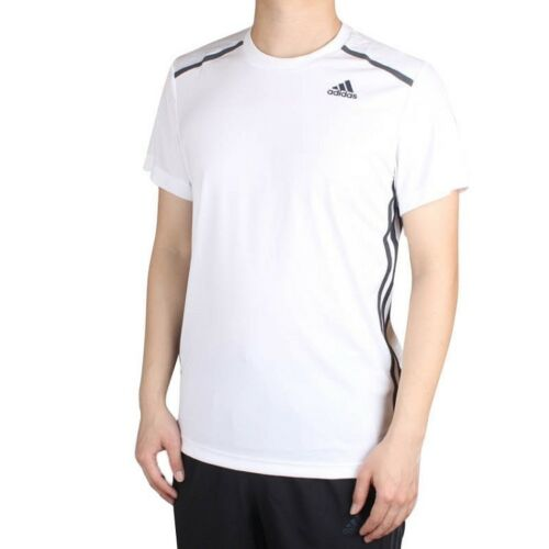Men/'s New Adidas Cool 365 Running T-Shirt Top White Fitness Gym Training Gym