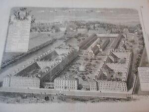 Gravure-1863-Hospice-des-Menages-Issy-Seine