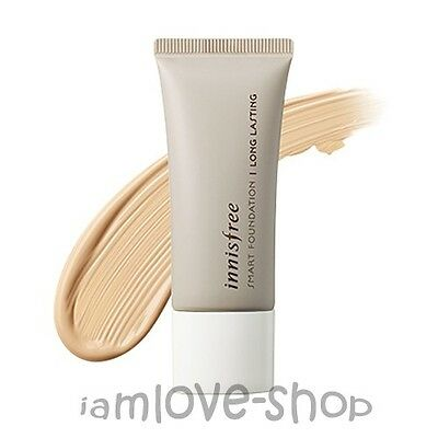 [Innisfree] SMART FOUNDATION - LONG LASTING [SPF30 PA++] 15ml mini size