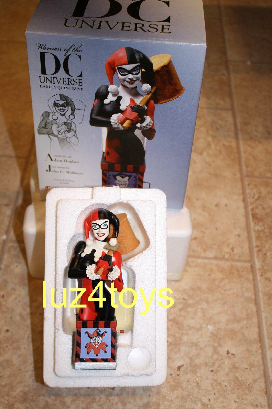 Dc Direct mujeres de la Dc Universe Harley Quinn Busto Series1 Adam Hughes