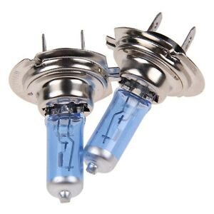 2x-Car-H7-Super-White-Headlight-Xenon-Halogen-Globes-Light-Lamp-Bulb-100W-12V
