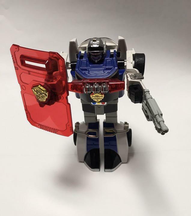 Beai DX Silencer Gekisou Sentai auto Ranger  Robot cifra Used Japan Rare  a buon mercato