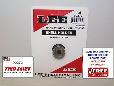 #14 LEE AUTO PRIME HAND PRIMING TOOL SHELL HOLDER 90272 LEE 90272