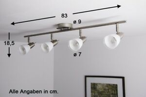 Büromöbel Moderner Led Deckenleuchte Mit Tropfendekor 4 Flammig Deckenlampe Küche
