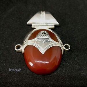 bijoux touareg argent agate