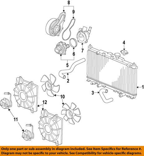 HONDA OEM 13-15 Accord-Radiator Cooling Fan Motor 386165A2A01