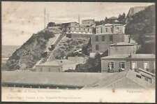 Chile Postcard Valparaiso Ascensor Pasco Norte Americano 1900 L@@K