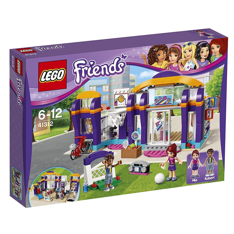 Lego Friends 41312 -centre Sportif de Heartlake. 6-12  Ans  nous prenons les clients comme notre dieu