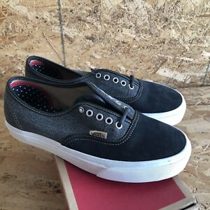 e14df91722 Vans Authentic + Utilitarian Black Blanc sz Mens 6.5   Womens 8 NIB ...
