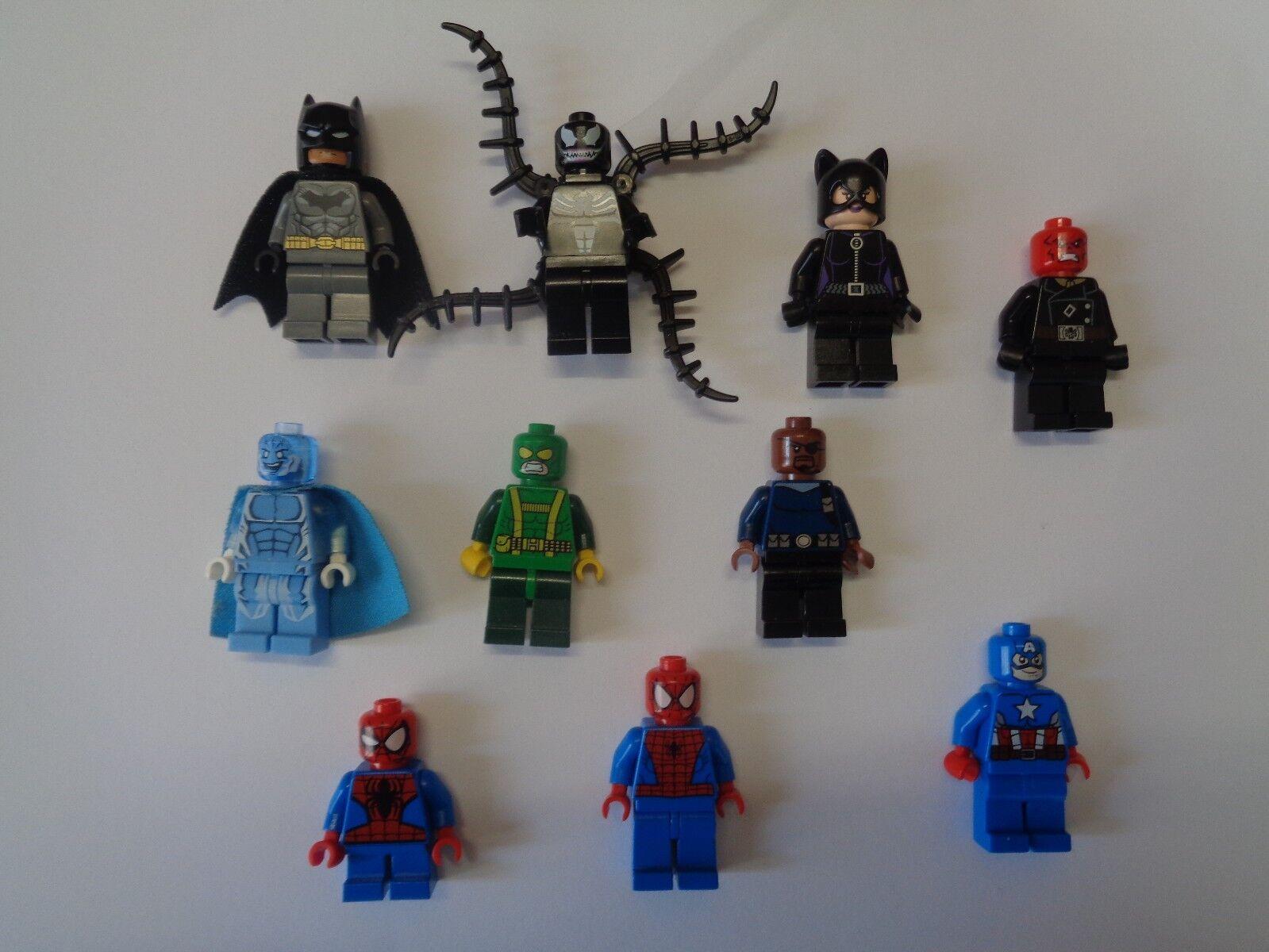 LEGO LEGO LEGO Super Héros Super Heroes Personnage Figurine Minifig Choose Model  calidad oficial