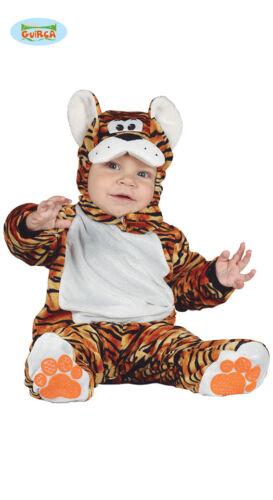 costume tigre carnevale tigro neonato vestito animali bambino bambina 87601
