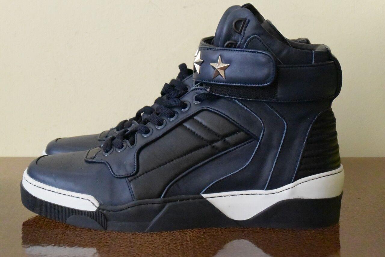 Givenchy Leder Hi Top Sneaker Gr 45