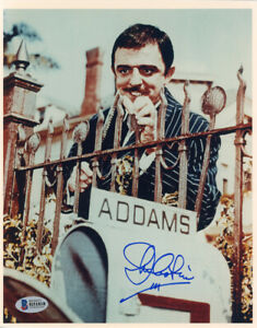 JOHN-ASTIN-SIGNED-AUTOGRAPHED-8x10-PHOTO-GOMEZ-THE-ADDAMS-FAMILY-BECKETT-BAS