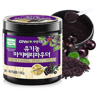 Gnm Natural Organic Maqui Berry Powder Tea 100g Freeze Dried Pure