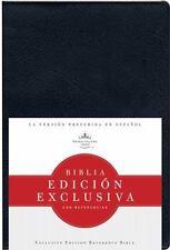 RVR 1960 Biblia Edicion Exclusiva con Referencias, Vinilo (Negro) by B&H Español