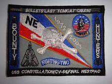 US Navy De-Commissioned USS CONSTELLATION CV-64 FINAL WESTPAC 1972-2003 Patch