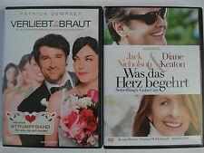 Verliebt in die Braut + Was das Herz begehrt - Romatik Sammlung - Jack Nicholson