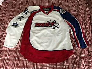super popular 8757c 0061e Image is loading 2009-NHL-All-Star-Reebok-Authentic-Blank-Game-