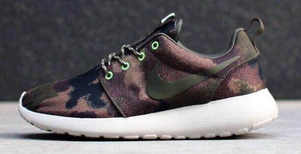 RARE NEW NIKE ROSHERUN PRINT WOMEN'S RUNNING Schuhe 100% AUTHENTIC