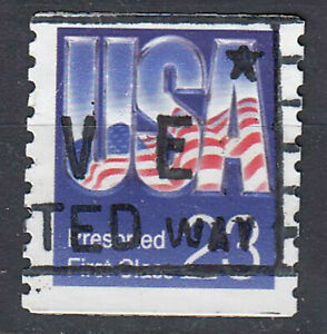 USA-Briefmarke-gestempelt-23c-Preserved-First-Class-1723