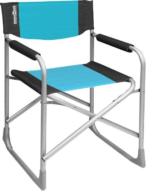 Camping Brunner ALU Chaise Pliante Chaise Chaise Chaise de camping nature réalisé par le capitaine Bleu Clair/Noir 2fa61a