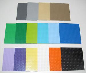 Lego-Plaque-de-Base-16x16-Tenons-Plate-Platten-Choose-Color-ref-91405-NEW