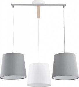 Détails sur Luminaire Suspendu Gris Blanc Salon Salle à Manger 3-flmg  Moderne Lampe