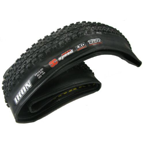 "Maxxis Ikon Exo 3C Maxx Tubeless Ready 29/""x 2.20 Fold Bike Tire Black or Tanwall"