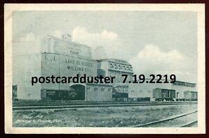 2219-PORTAGE-LA-PRAIRIE-Manitoba-1920s-Five-Roses-Flour-Mill-Railway-Trains