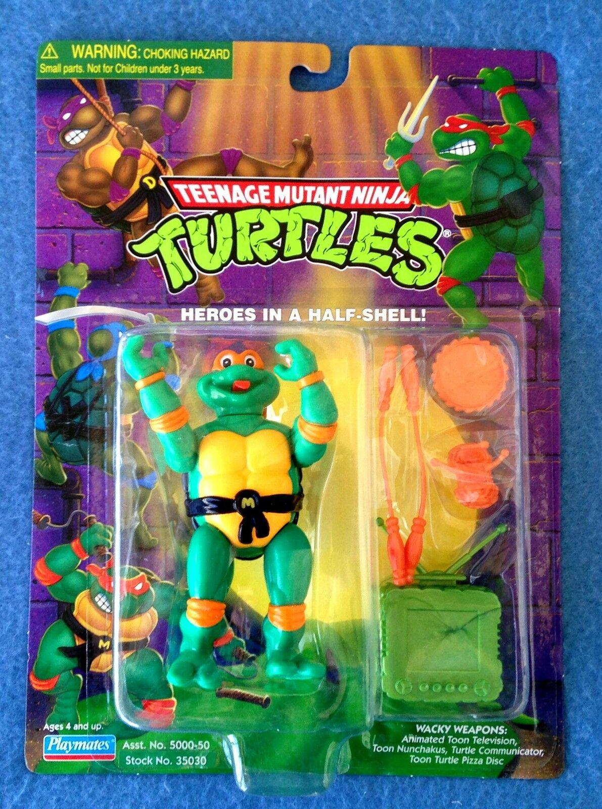 Toon mike michelangelo teenage mutant ninja turtles. abbildung 1999