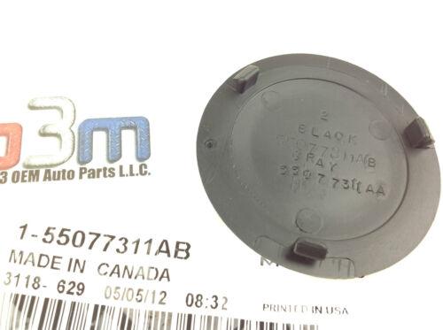 2003-2010 Dodge Ram Rear Bumper Step Pad Towing Ball Plug Round Cap OEM new