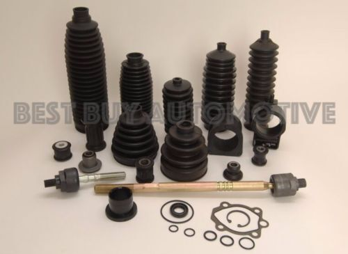 6 PIECE KIT-IN STOCK-2 Boots 4 Clamps-Chevrolet Rack /& Pinion Bellow//Boot