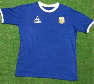 1986 Argentina retro classic vintage DIEGO MARADONA jersey Soccer jersey  Adult