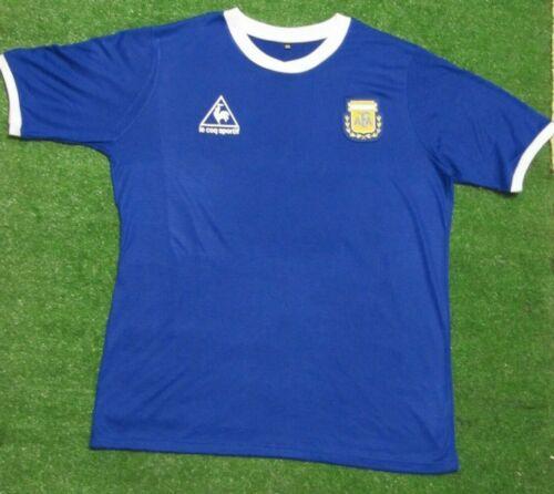 Argentina 1986 Away Retro Soccer Jersey Maradona