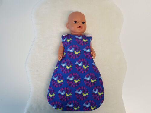 Babypuppen & Zubehör MepsiDesigns Handmade Puppenschlafsack für 43cm Baby Born NEU Kleidung & Accessoires