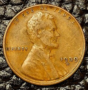 1936-D Lincoln Wheat Cent in Fine F // FN Condition ~ $20 ORDERS SHIP FREE!