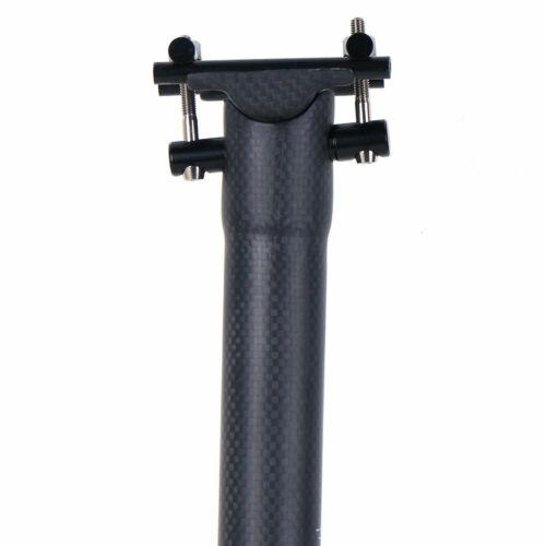 Bicycle Seatposts Carbon Fiber MTB Road Bike Seat Tube 27.2//30.8//31.6mm 3K Matte