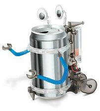 TOYSMITH 3653 Tin Can Robot Kit - Green Science Recycle Project Kit