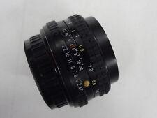 SMC Pentax A 2,0 / 50 mm   Objektiv mit PK Bajonett