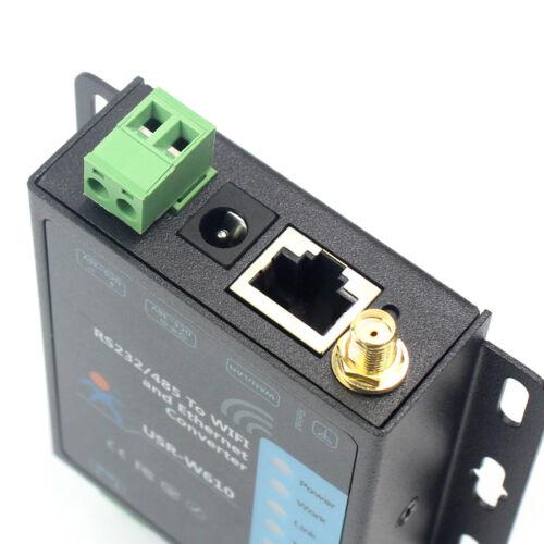 TCP RS232 RS485 Seriell zu WiFi und Ethernet Konverter USR-W610 TCP Server