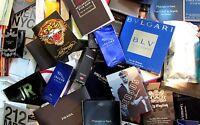 Men Men's Cologne / Perfume Sample Vials X 75 + Shower Gel + A/shave A2 Lk