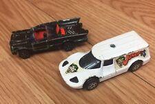 Vintage Corgi Juniors 1970's Batman Batmobiles & Jokermobile Lot