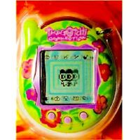Tamagotchi Connection Version 3 - Tropical Green Flowers New In Box - Very Rare
