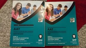 Aat-personal-tax-level-4-Bpp-online-access-text-question-bank-accounting-books