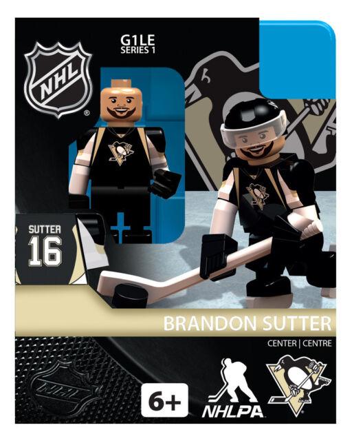cb9e9deb5da Brandon Sutter OYO Pittsburg Penguins NHL Hockey Mini Figure G1 for ...