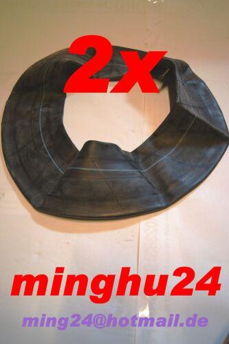 2 x Schlauch 18x8.50-8 18x850-8 für Reifen 18x8.50-8 gerades Ventil TR13 GV